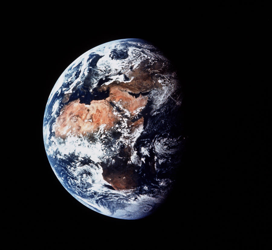 apollo 11 image of the earth nasascience
